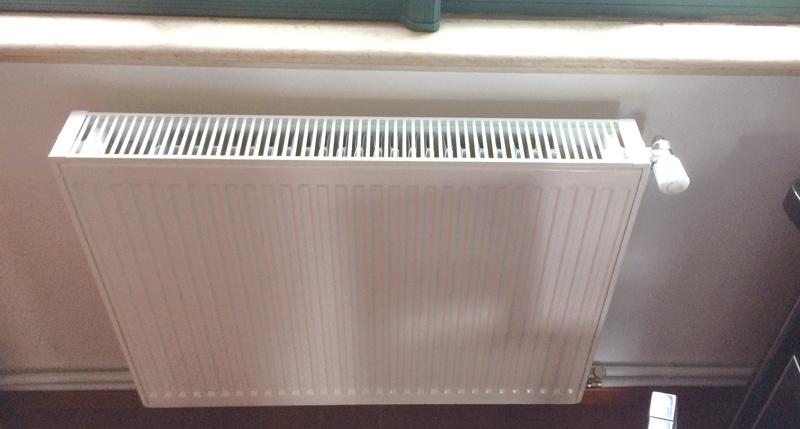 东湖山庄暗装暖气片调试现场(一)