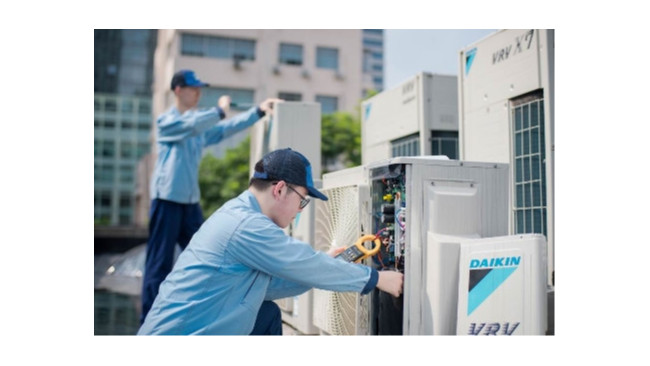 VRV商用中央空调系统安装优势[国佳冷暖]