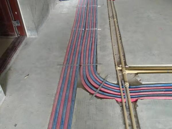 暖气施工现场-2